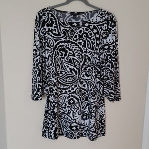 Alfani tunic top